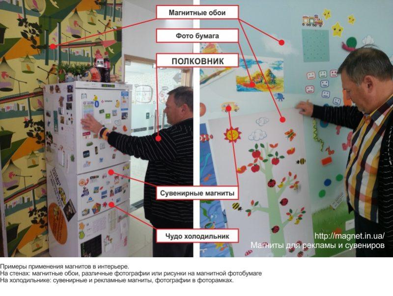Read more about the article Магнитные обои и Гибкий магнит в интерьере