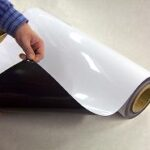 magnetic paper roll