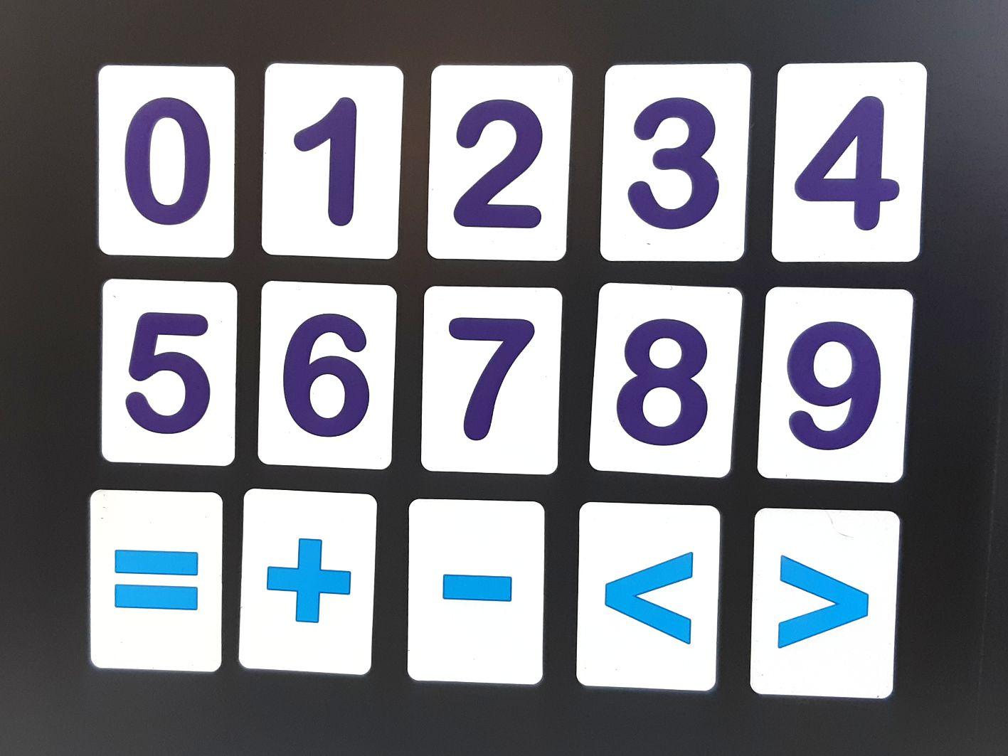 Магнитные буквы и цифры, Магнітні букви і цифри