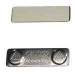 Магнітний тримач для бейджу 45х13мм (метал)